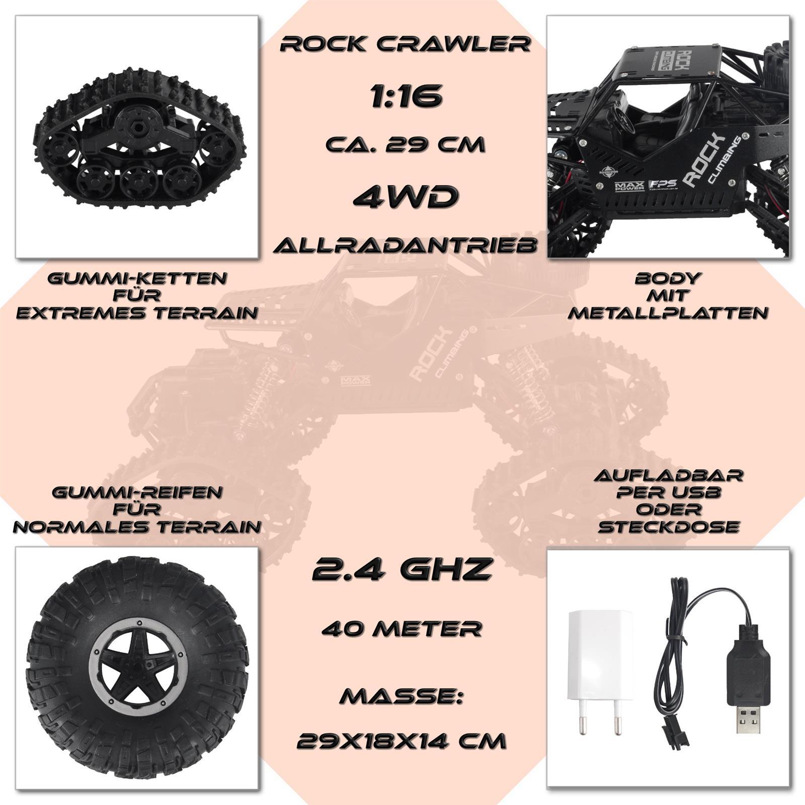RC Rock Crawler 1 16 Highlights