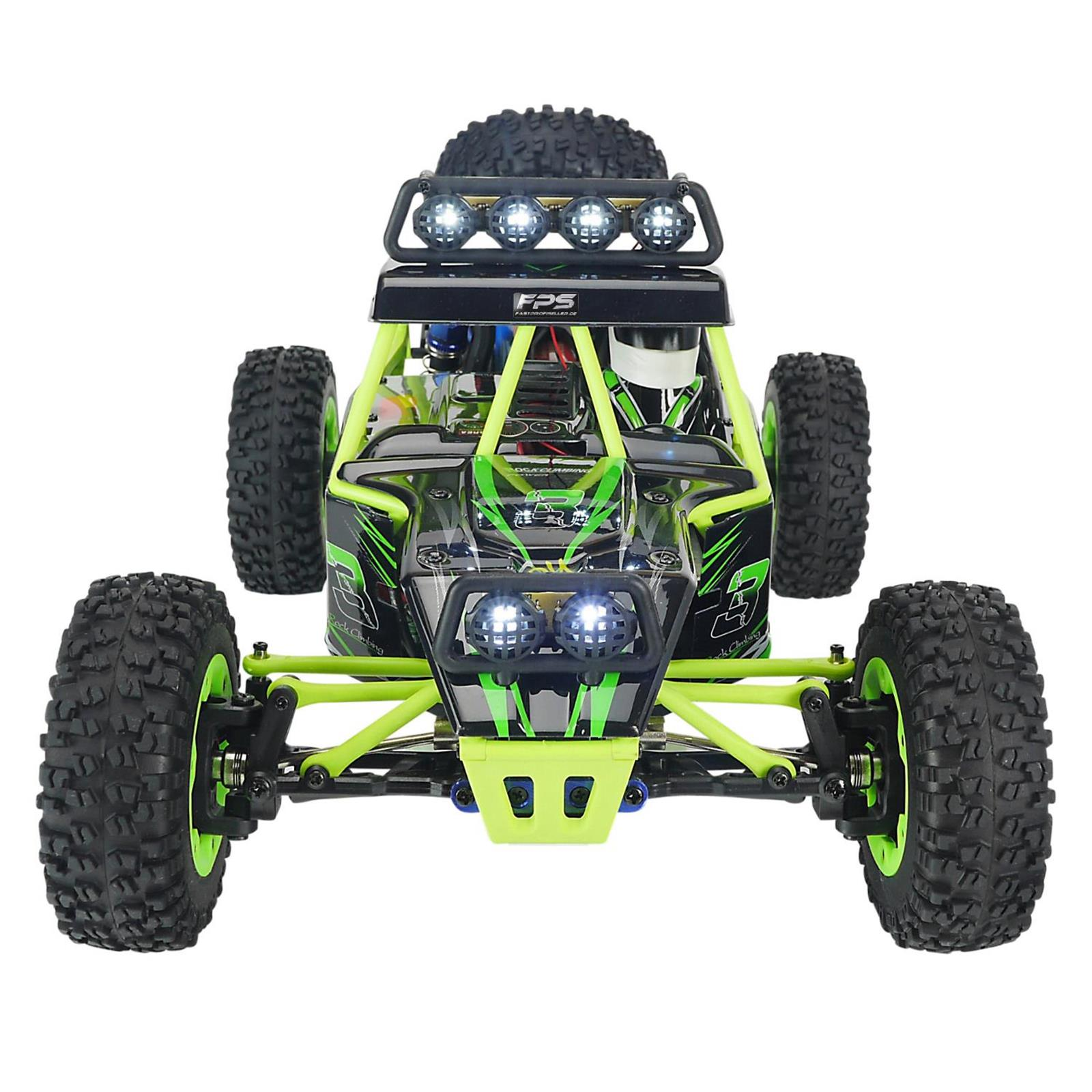 rc truggy pro v2 buggy 2 4g elektro auto 50 km h 4wd 1 12. Black Bedroom Furniture Sets. Home Design Ideas