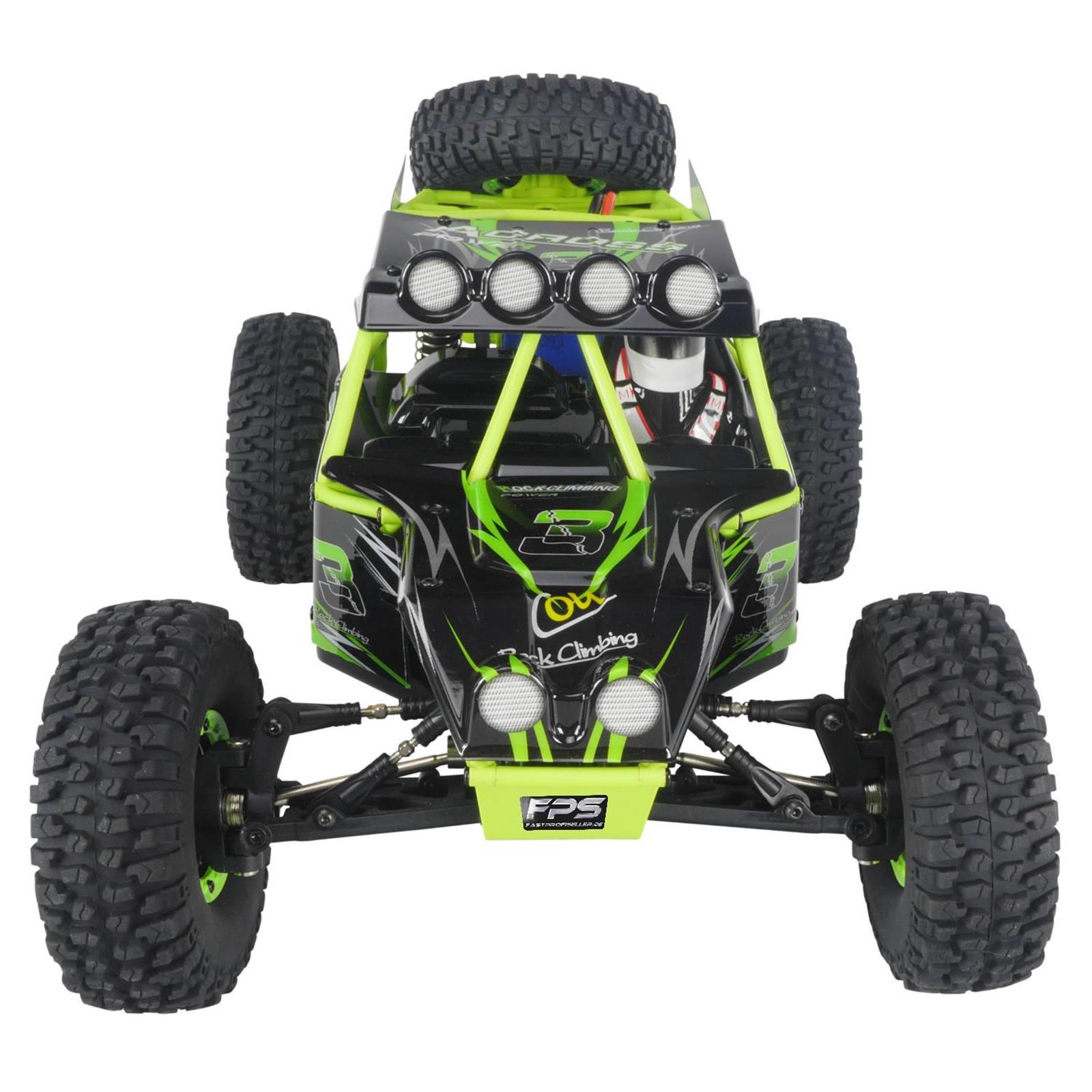 FPS Bundle XXL PRO V10 RC Monster Truck mit Zubehör 2x Akku