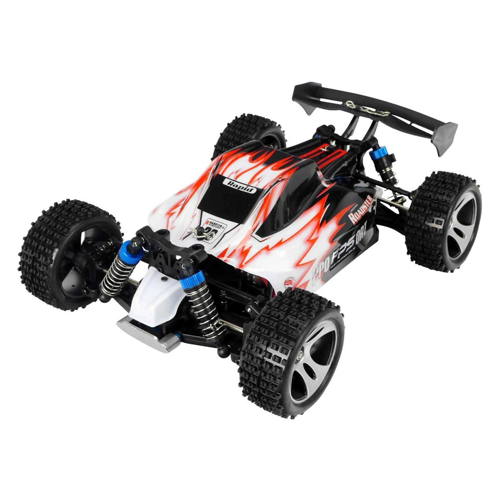 rc buggy 1 18 pro v2 50 km h elektro offroad auto 4wd. Black Bedroom Furniture Sets. Home Design Ideas