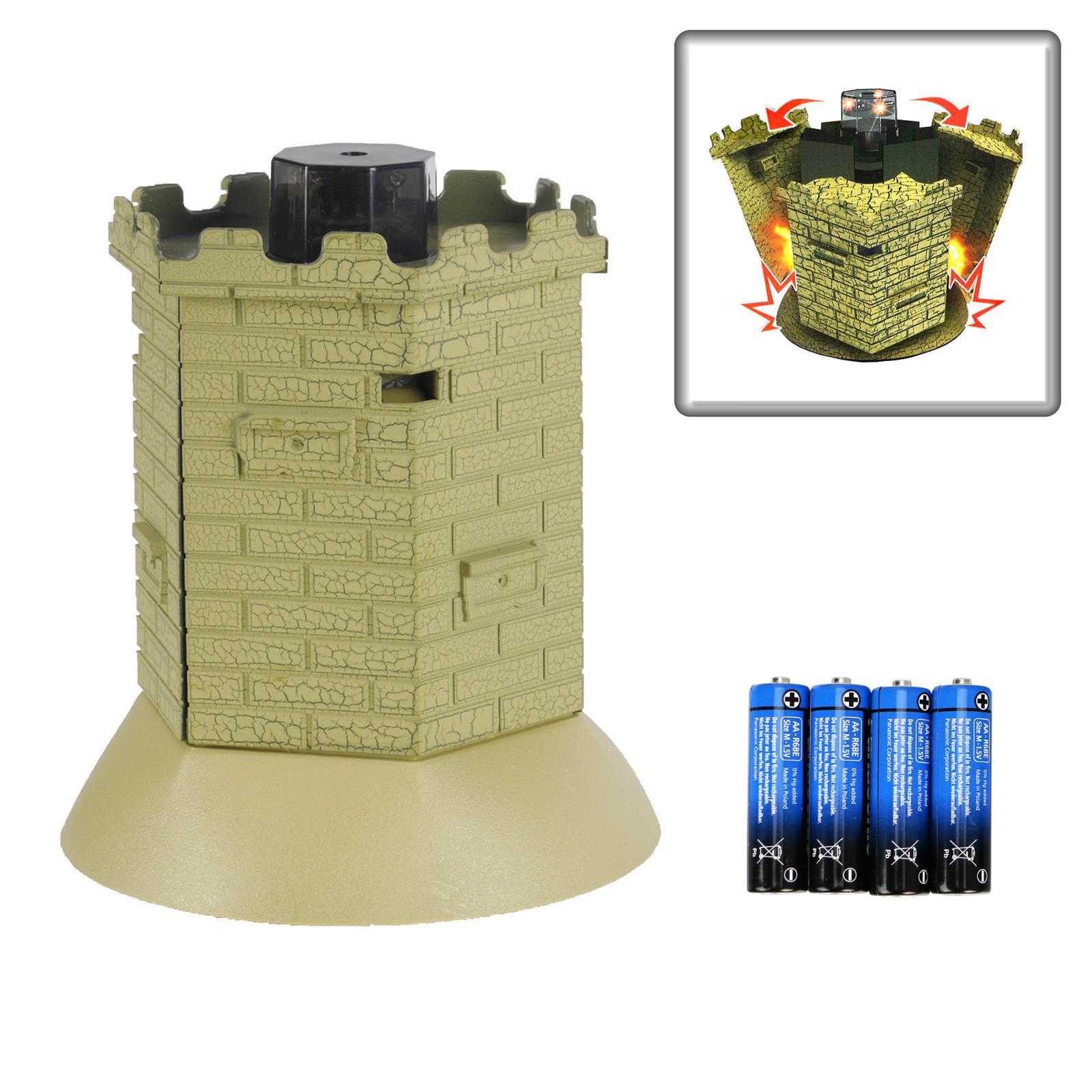 RC Panzer 1:28 Bunker Turm