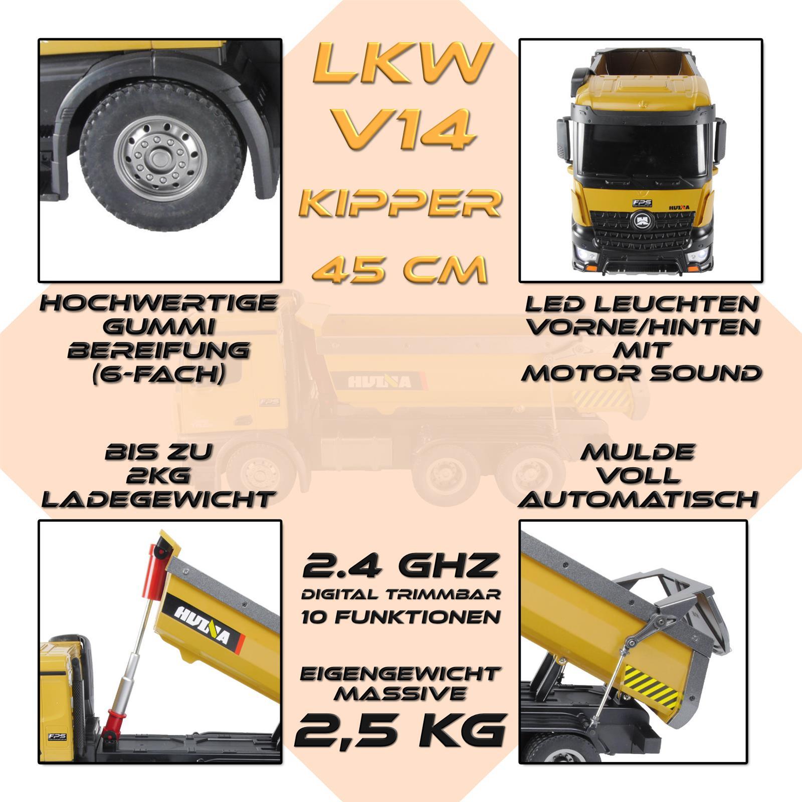 FPS Bundle RC LKW 1:14 Highlights