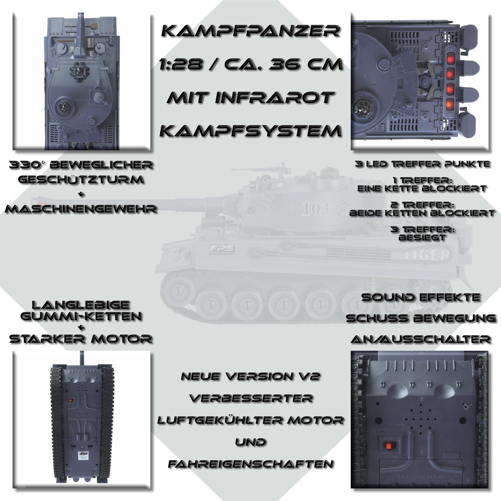 RC Panzer 1:28 Highlights