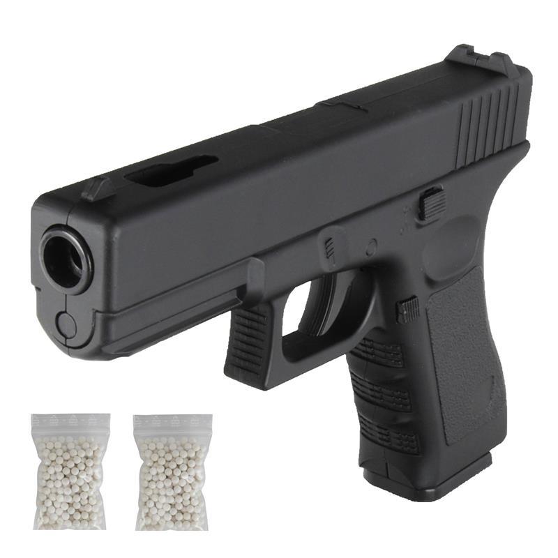 Softair Pistole Voll Metall Fps6 Schalldampfer Airsoft Silencer 500x0 2g 6mm Bb