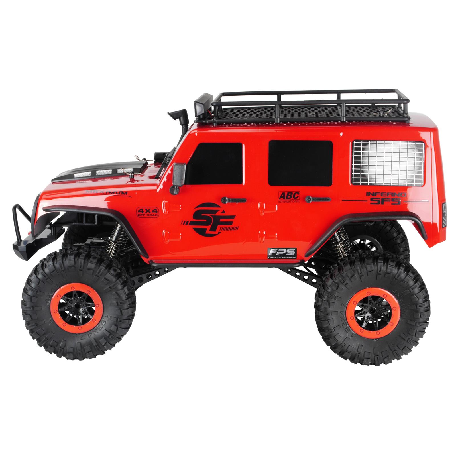 Rock Crawler RC Monstertruck Zubehör