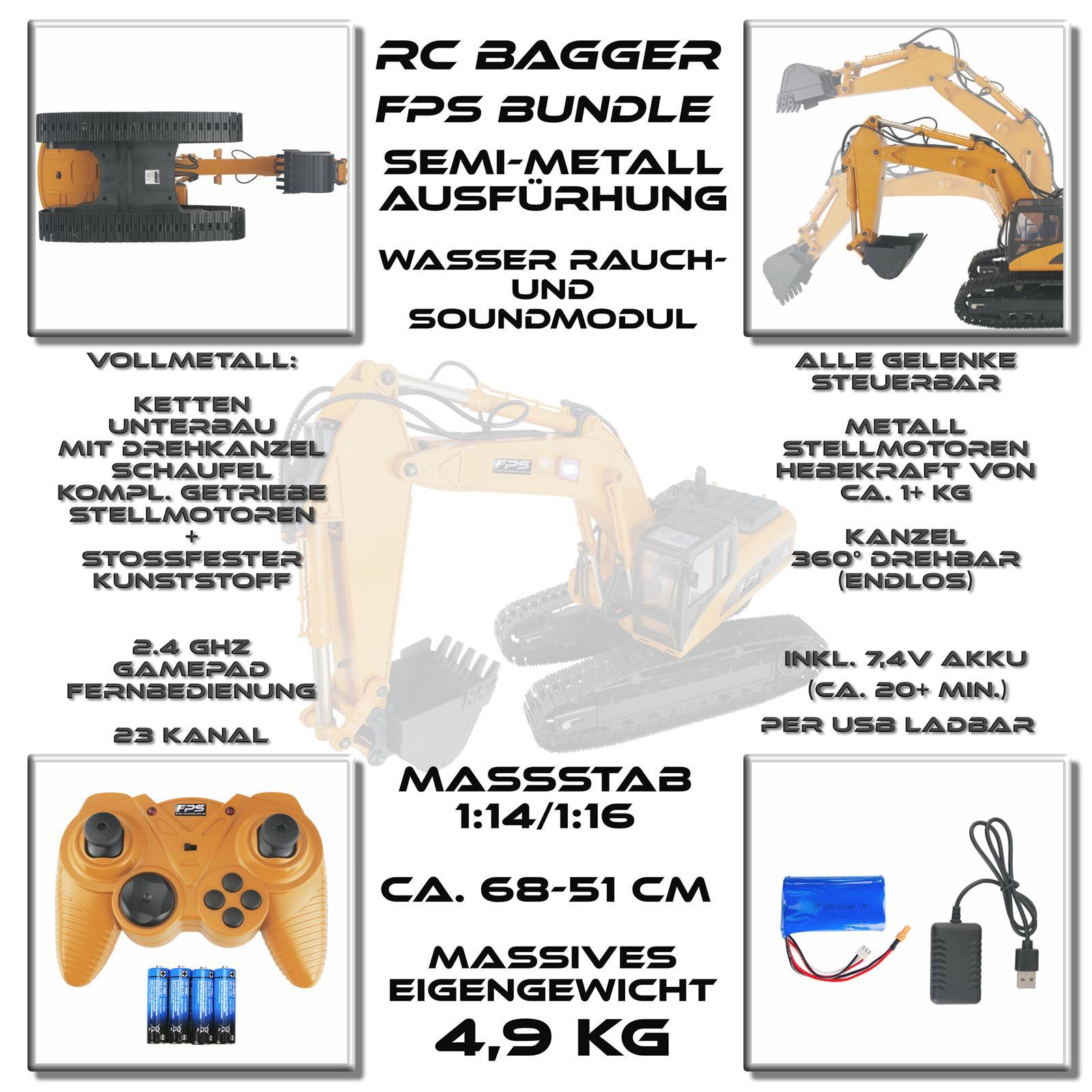 FPS Bundle RC Bagger 1:14 Highlights