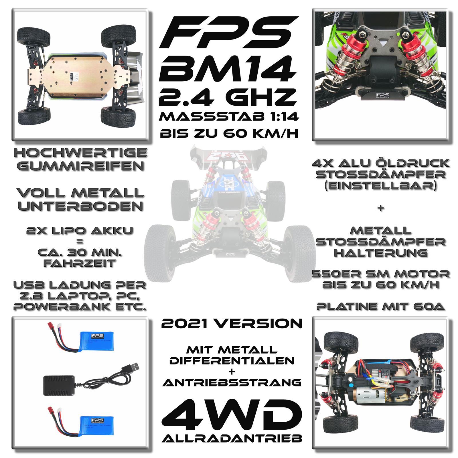FPS B14MG Highlights