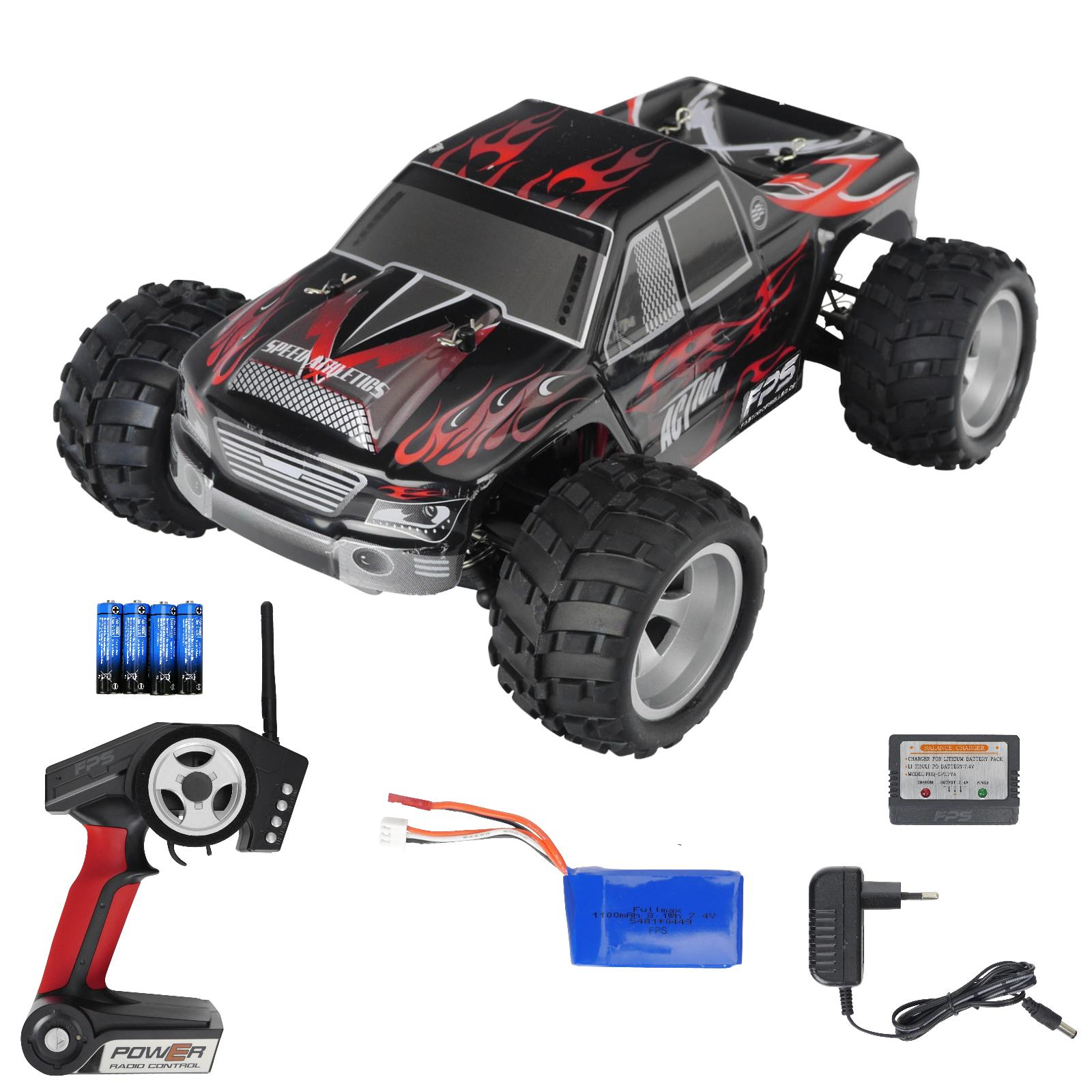 rc 2 4g mini monstertruck buggy 1 24 ferngesteuertes. Black Bedroom Furniture Sets. Home Design Ideas