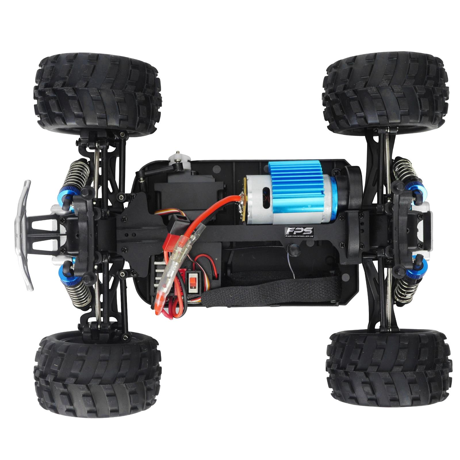 rc modellbau elektro auto monstertruck buggy fahrzeug 1 18. Black Bedroom Furniture Sets. Home Design Ideas