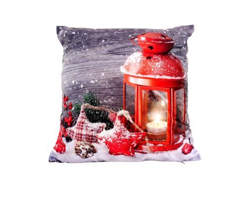 Led dekokissen mit f llung 40x40 cm weihnachten winter - Dekokissen weihnachten ...