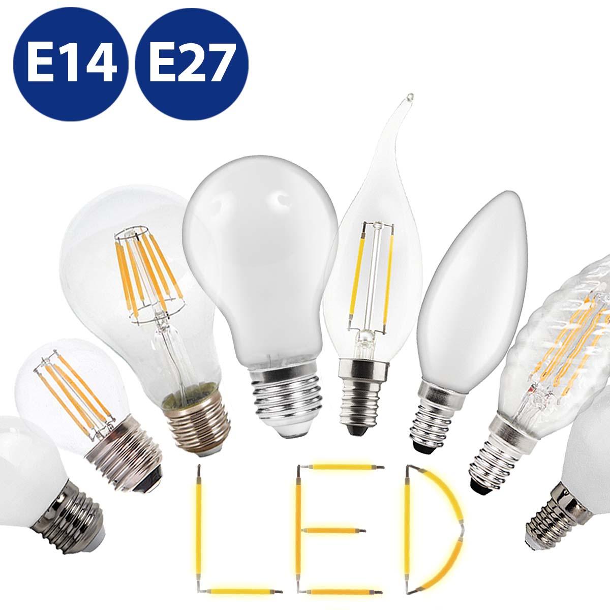 LED E14 G45 Retro Leuchtmittel 2W 4W 6W Lampe Glühbirnen Energiespar Birne ✪