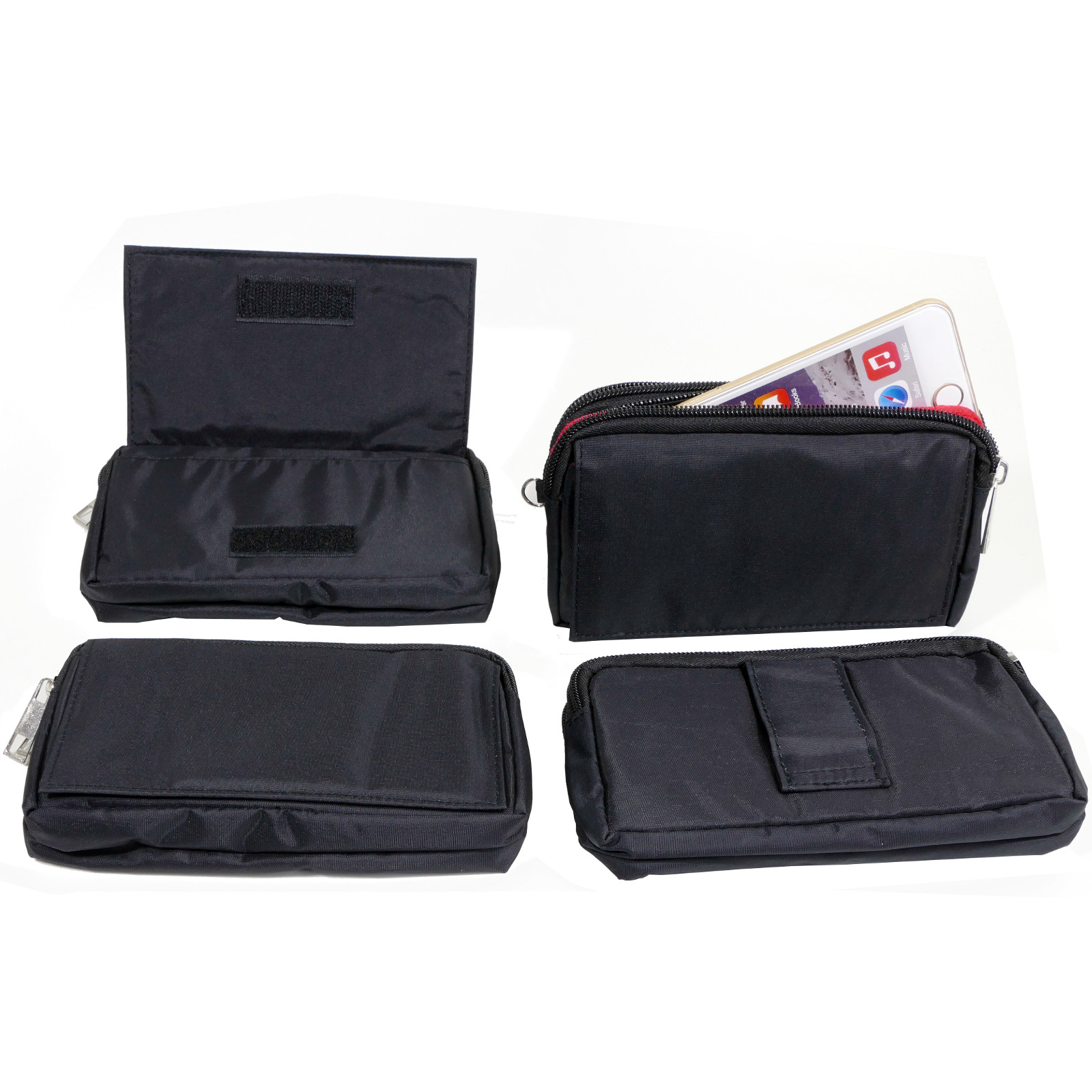 Handy Tasche Für Samsung Schutzhülle Etui Case Quer Gürteltasche Portemonnaie Handys & Kommunikation