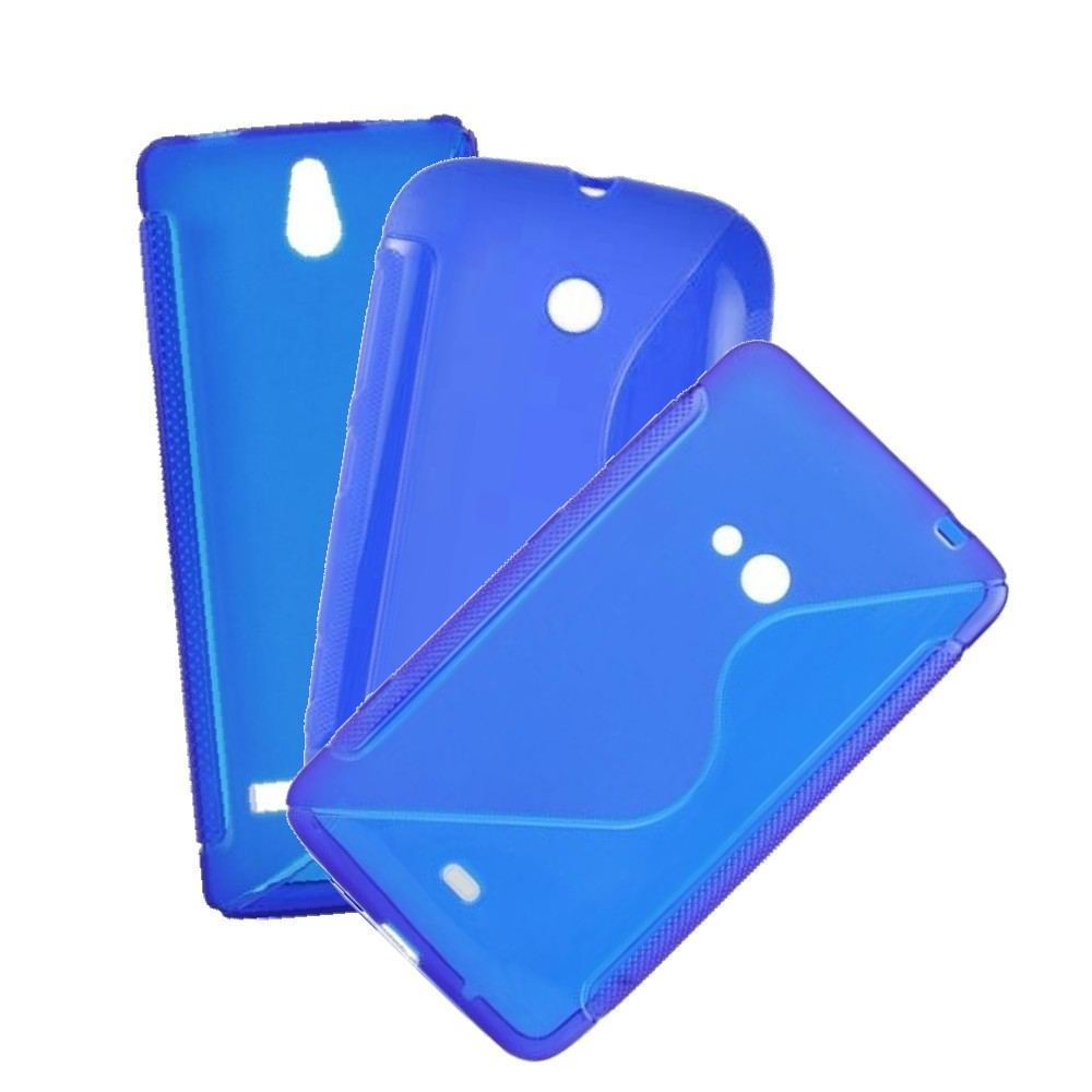 für APPLE iPhone 5c Silikon Case TPU blau