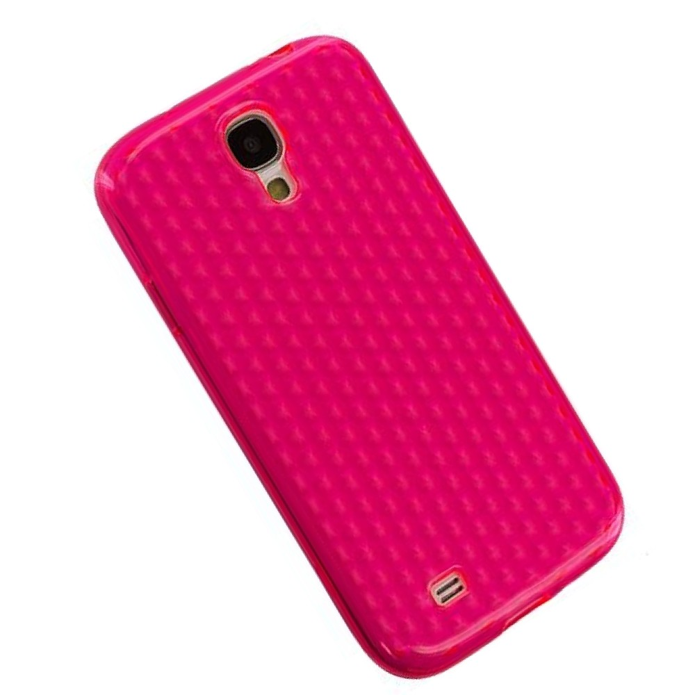für APPLE iPhone 5 5s Silikon Case TPU pink diam