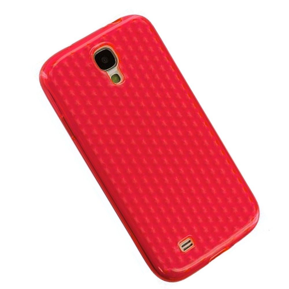 für APPLE iPhone 5 5s Silikon Case TPU rot diam