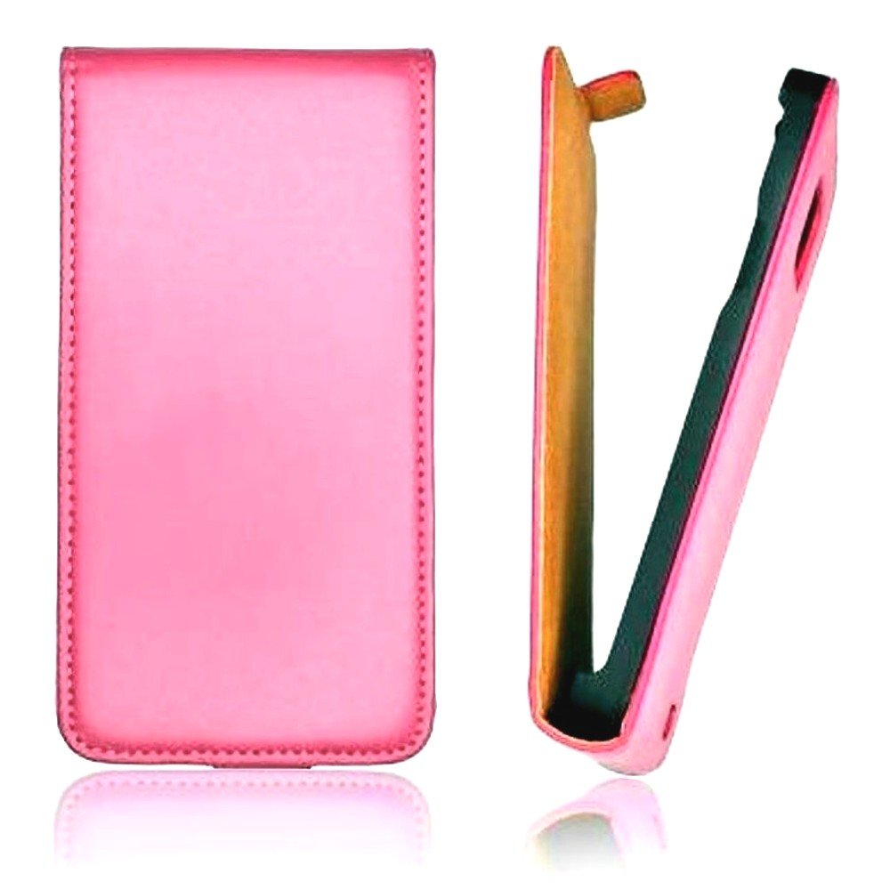 für SAMSUNG Galaxy Core Plus SM-G350 Flip Case Slim rosa