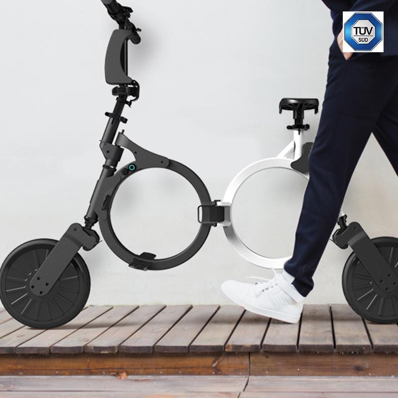 ehop e hop fast c1 alu elektro fahrrad klapprad. Black Bedroom Furniture Sets. Home Design Ideas