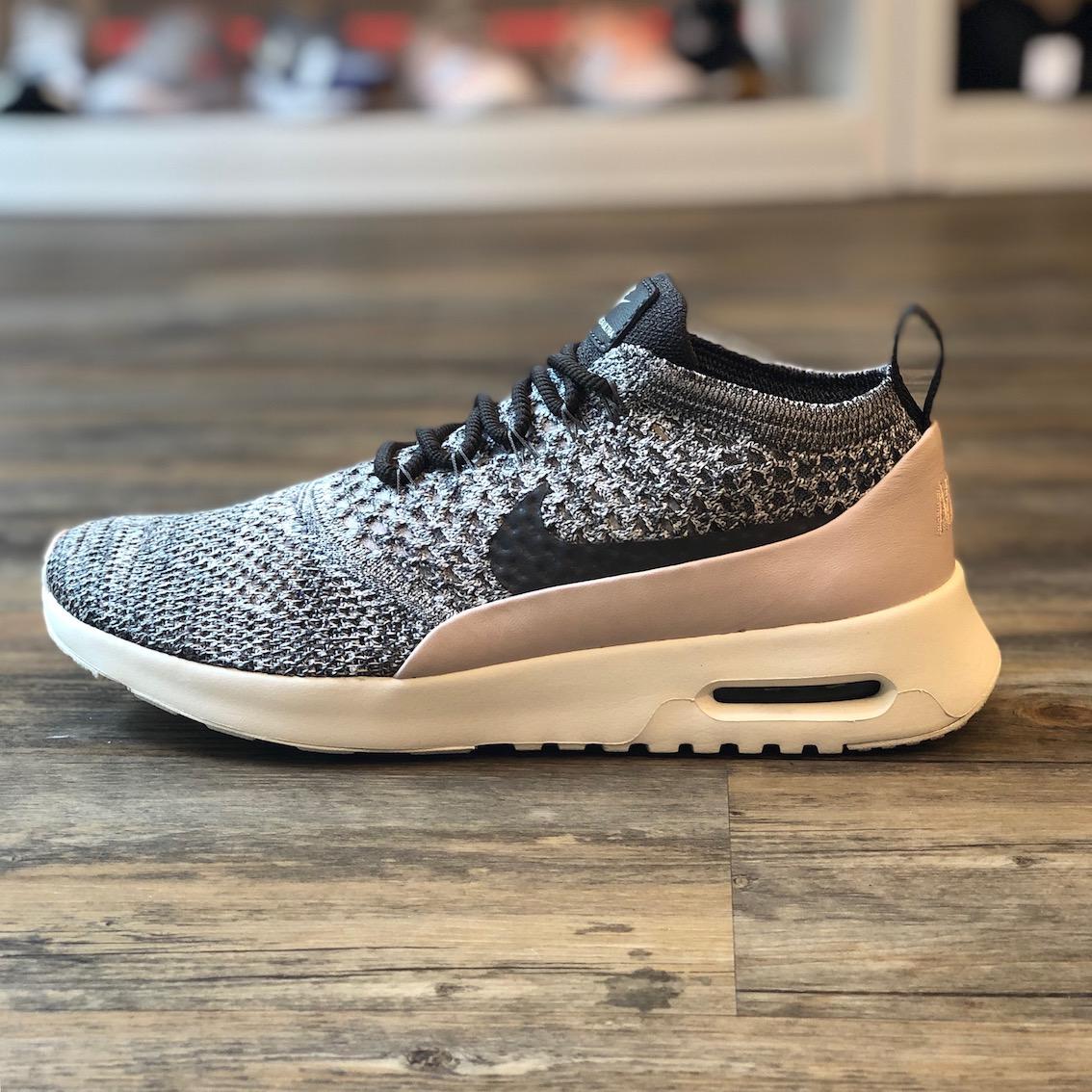Details zu Nike Air Max Thea Flyknit Gr.40 Running Sneaker Schuhe schwarz 270 881175 003