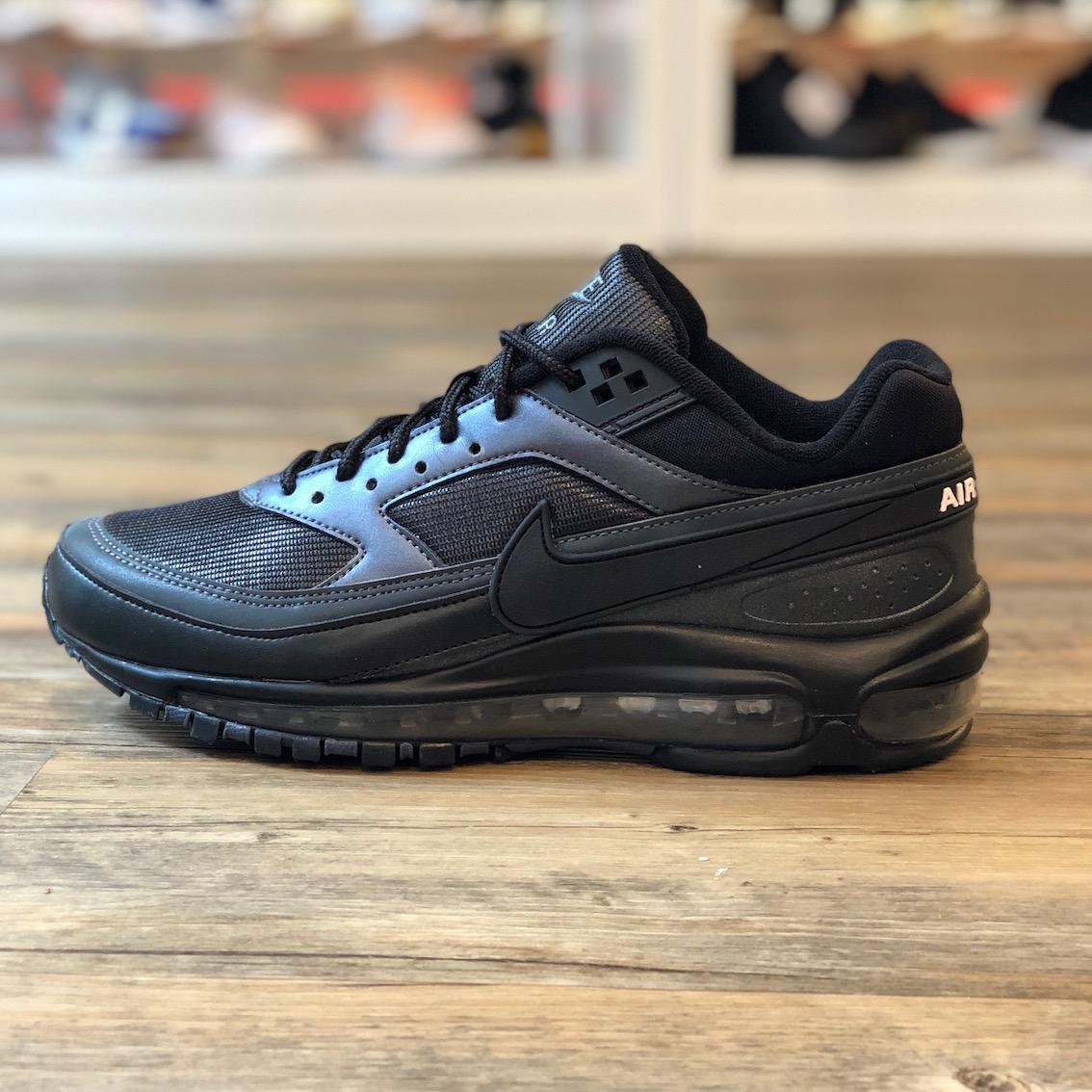NIKE AIR MAX 97BW Gr.45 Schuhe Sneaker schwarz 270 Neu