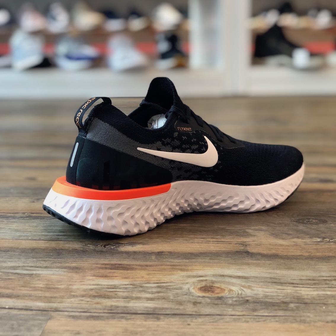Details zu Nike Epic React Flyknit 2 Gr.45 Sneaker Schuhe schwarz AV7004 002 Herren Running