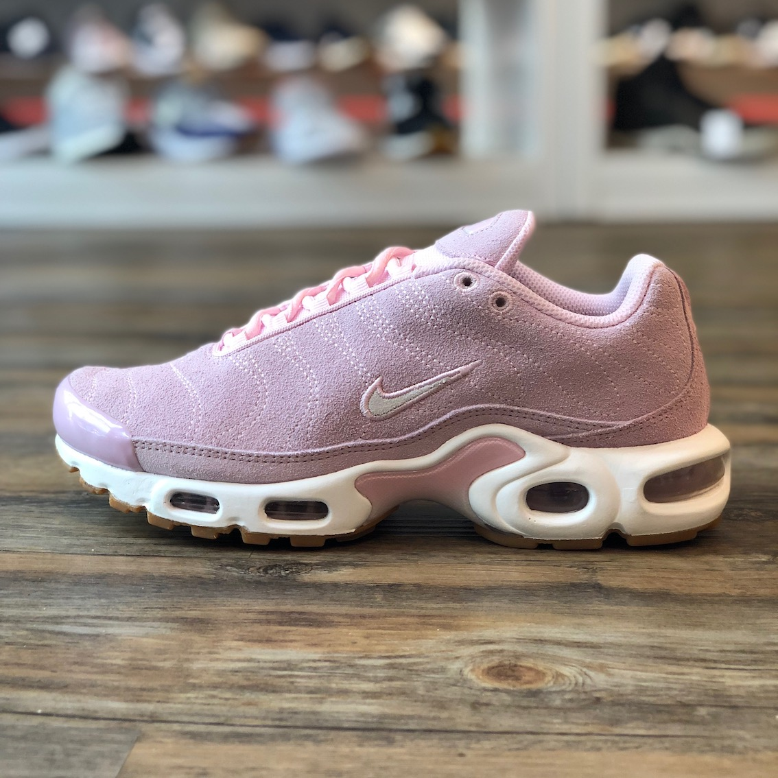 Details zu Nike Air Max Plus TN Gr.41 Sneaker Schuhe Running pink CD7060 600 Damen