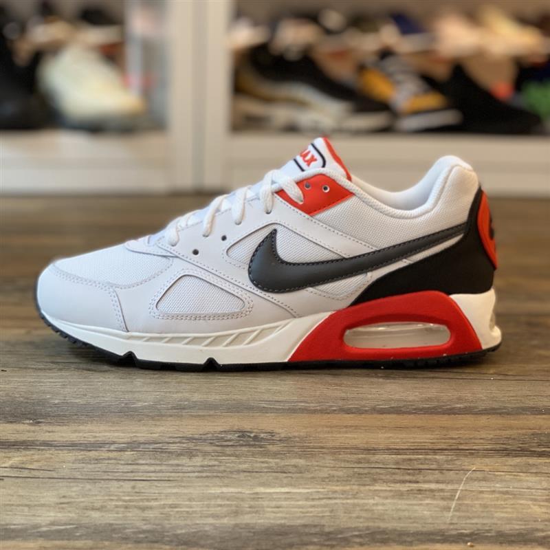 Détails sur Nike Air Max Ivo Gr.43 Baskets Blanc Rouge CD1540 100 Chaussures Hommes Cla